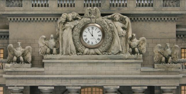 Penn Station Sculpture Close Up