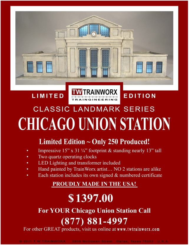 Chicago Union Station Label